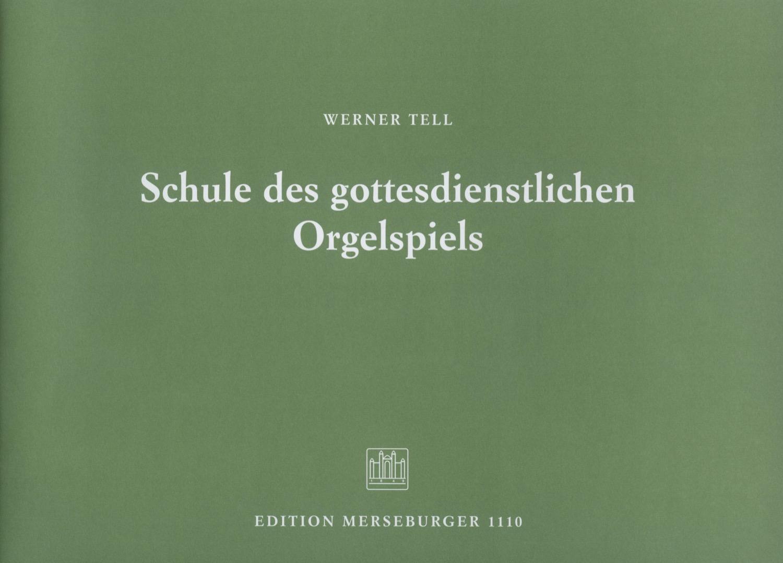 Schule des gottesdienstlichen Orgelspiels