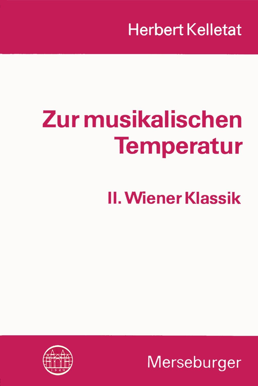 Zur musikalischen Temperatur