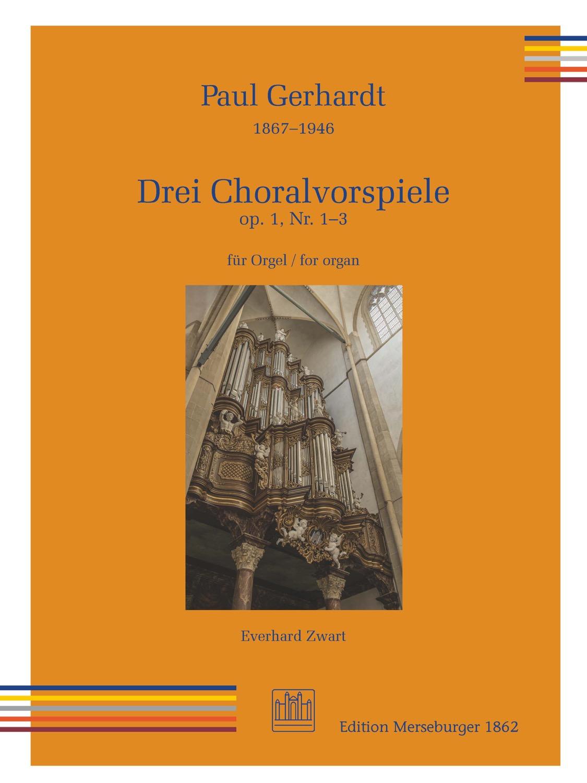 Drei Choralvorspiele op. 1