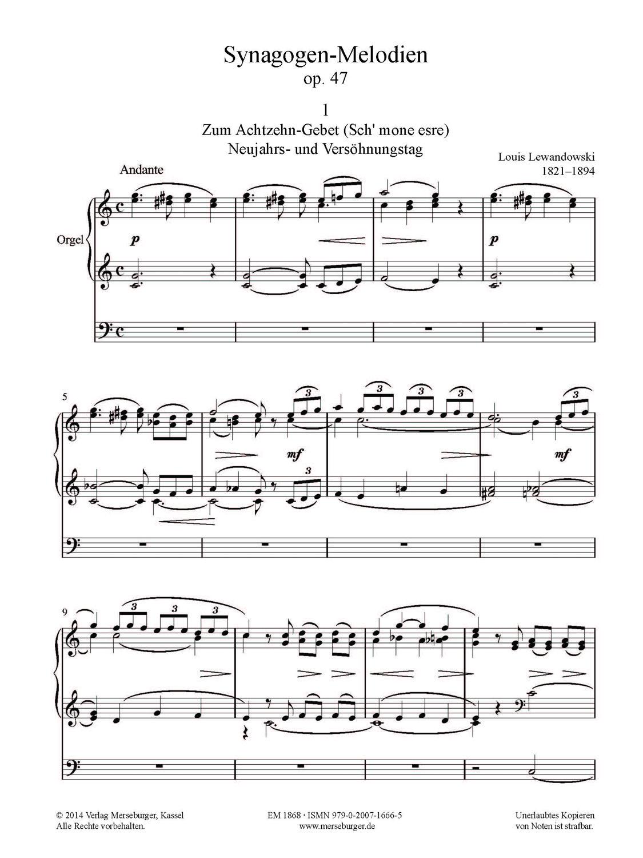 Synagogen-Melodien