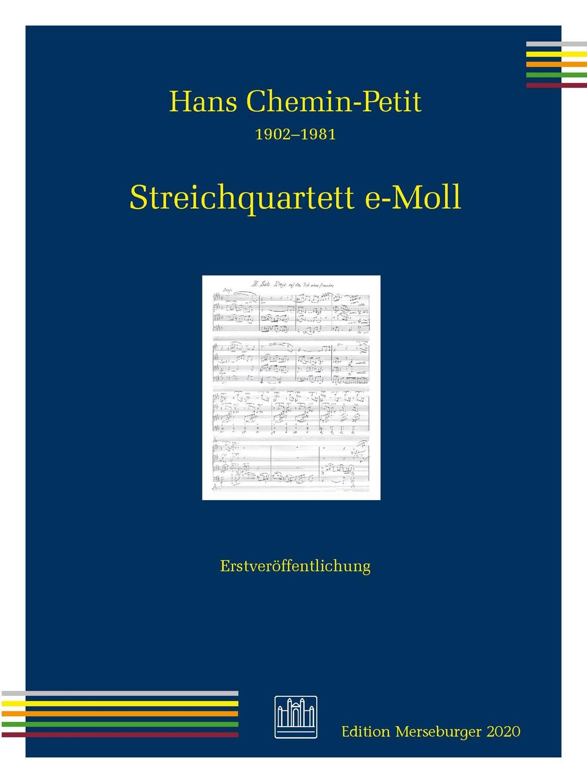 Streichquartett e-Moll