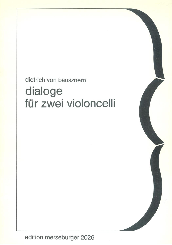 Dialoge für 2 Violoncelli