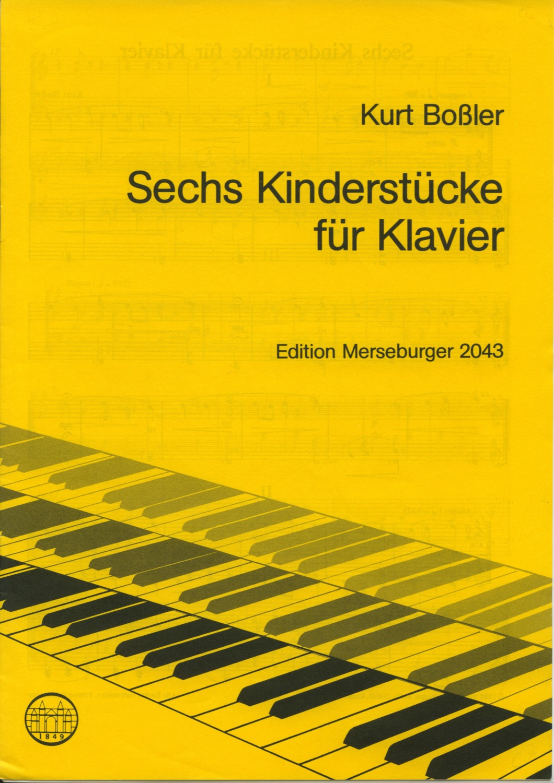 Sechs Kinderstücke für Klavier