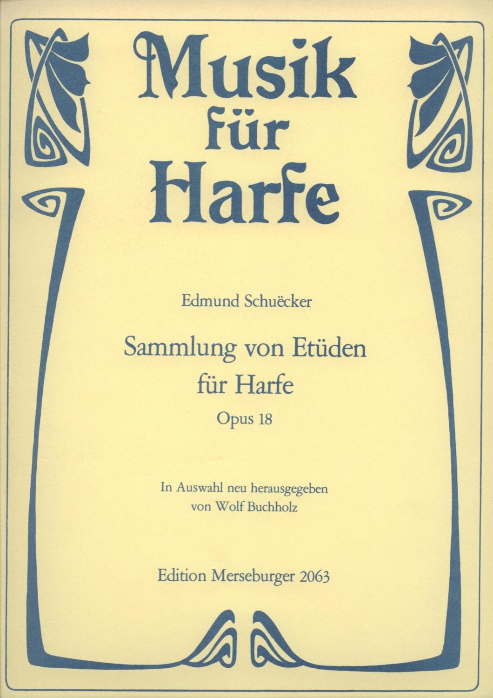 Sammlung von Etüden für Harfe, op. 18