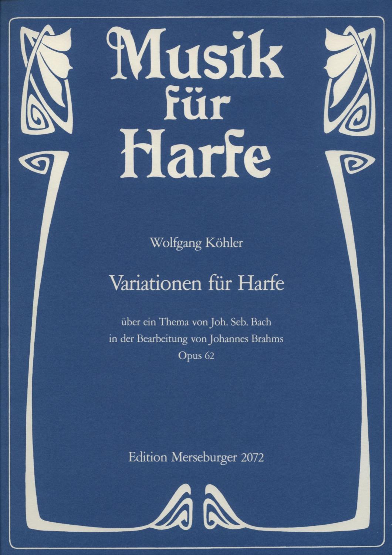 Variationen für Harfe, op. 62