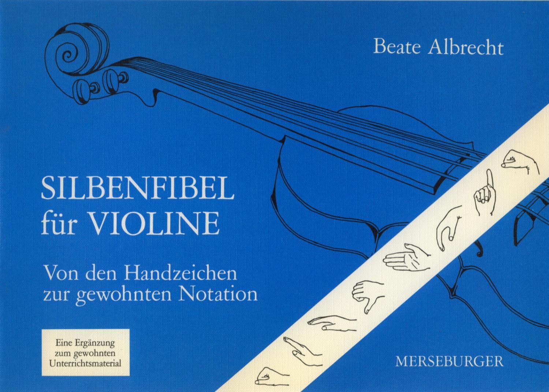 Silbenfibel für Violine