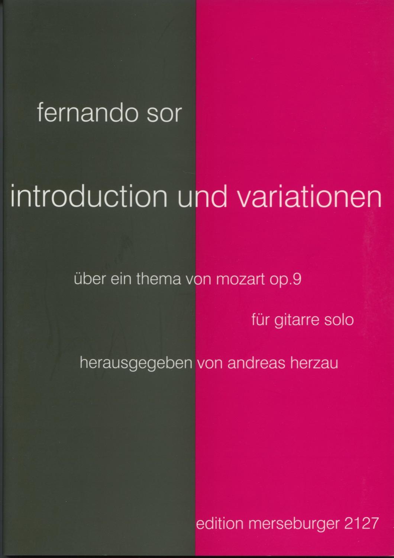 Introduktion und Variation über ein Thema von W.A. Mozart
