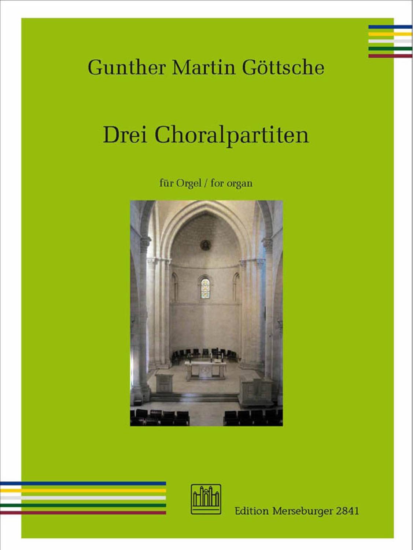 Drei Choralpartiten op. 62