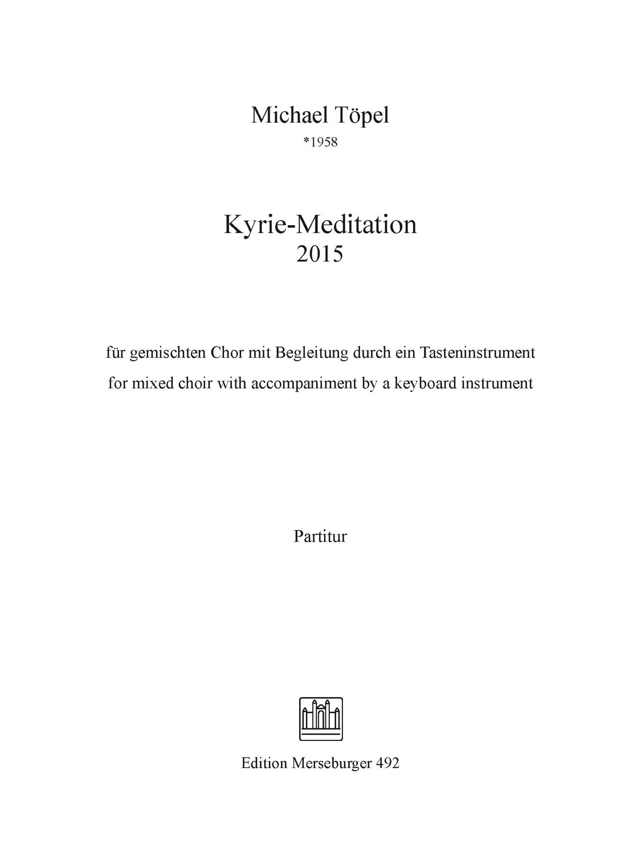 Kyrie-Meditation (2015)