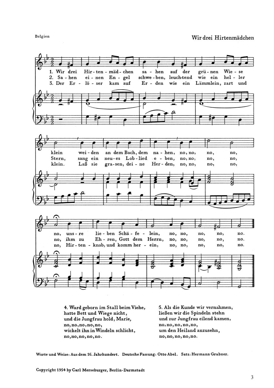Europäische Weihnachtslieder am Klavier zu singen