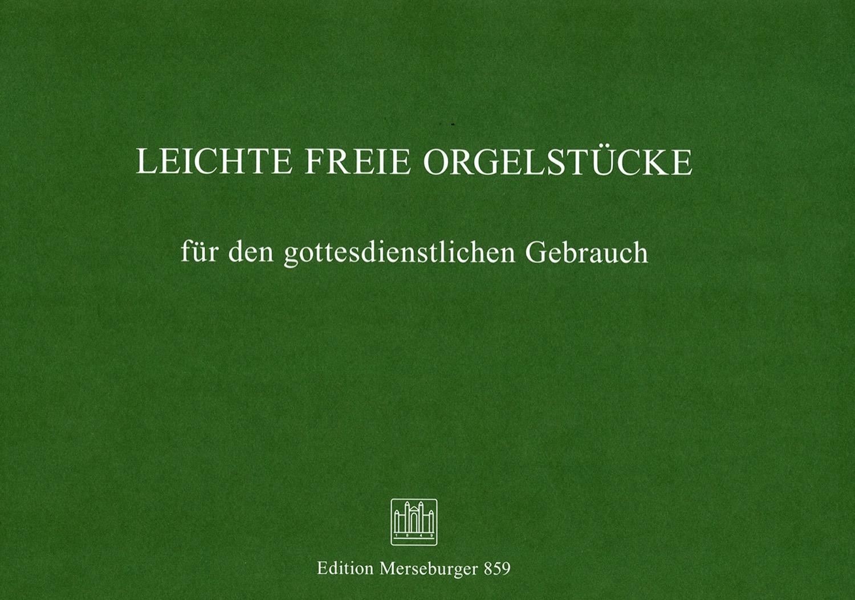 Leichte freie Orgelstücke